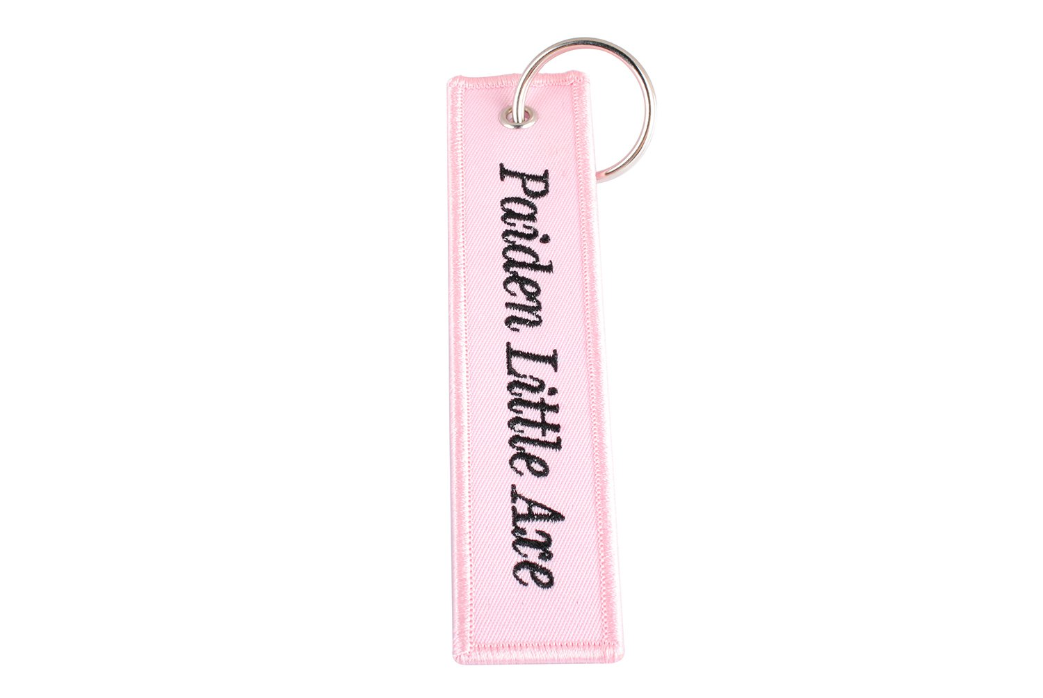 Amazon.com  Personalized Embroidered Key Tags Custom Keychain Linen Woven  Luggage Tag (Green)  Office Products e7174a265e