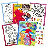 Best Sesame Street Book Of Colors - Sesame Street Stickers Toddler Coloring Book Set ~ Review