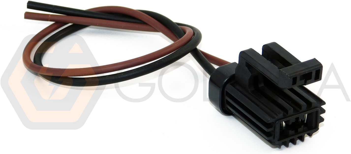Amazon.com: 1x Connector 2-way 2 pin for Ford AC Blower WPT-104: AutomotiveAmazon.com