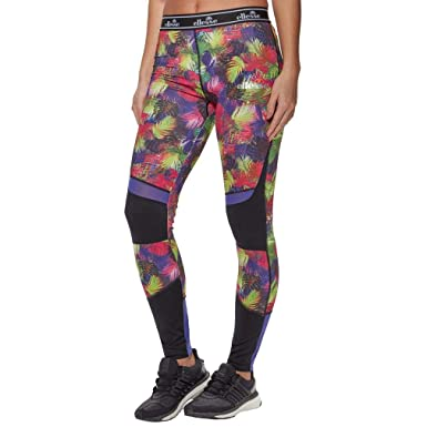 af9b9cf4 ellesse Athena WomenÔÇÖs Training Leggings, Multi Coloured, 12 ...