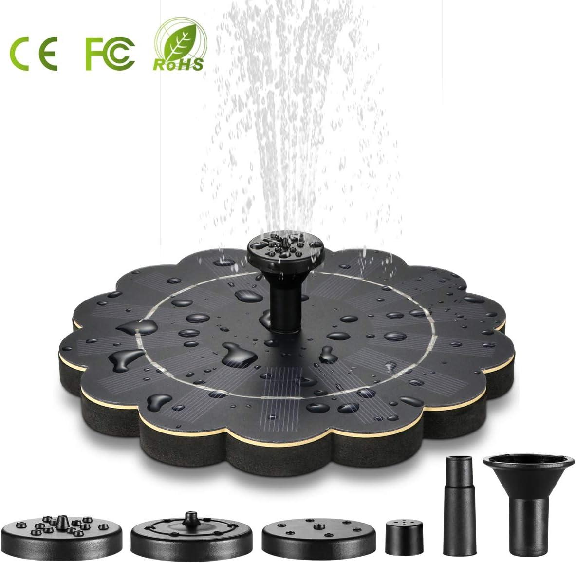 Solar Fountain Solar