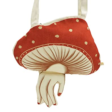 c969258f6904 Vintage Muchacha ahcahcum wind mushroom Shoulder Bag canvas Harajuku ...