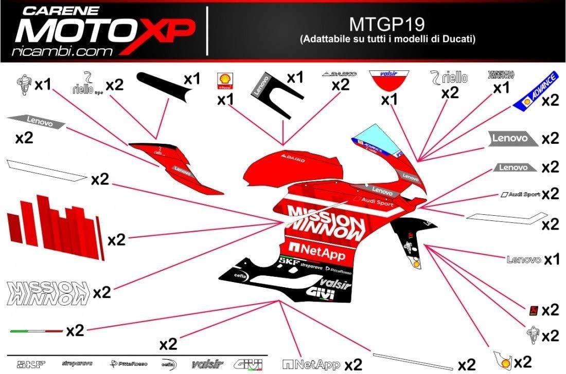 Pegatinas Adhesivos Motos Racing Ducati 1299 959 Panigale MT19 ...