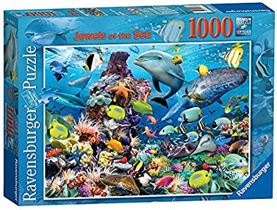 Ravensburger Jewels of The Sea, 1000pc Jigsaw Puzzle