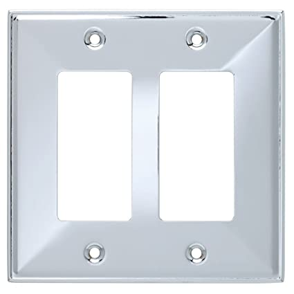 Franklin Brass 135878 Beverly Double Decorator Wall Plate Switch