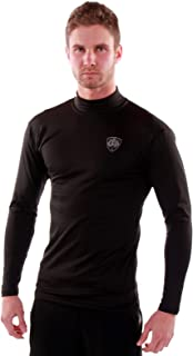 product image for Go Athletic Apparel Men's Long Sleeve Thermal Underwear Shirt for Cold Weather; Base Layer