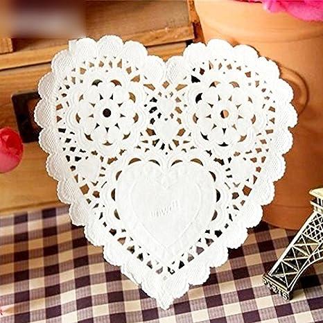 Amazon Lace Paper Doilies Craft 200 Pcs Placemat 1397cm5