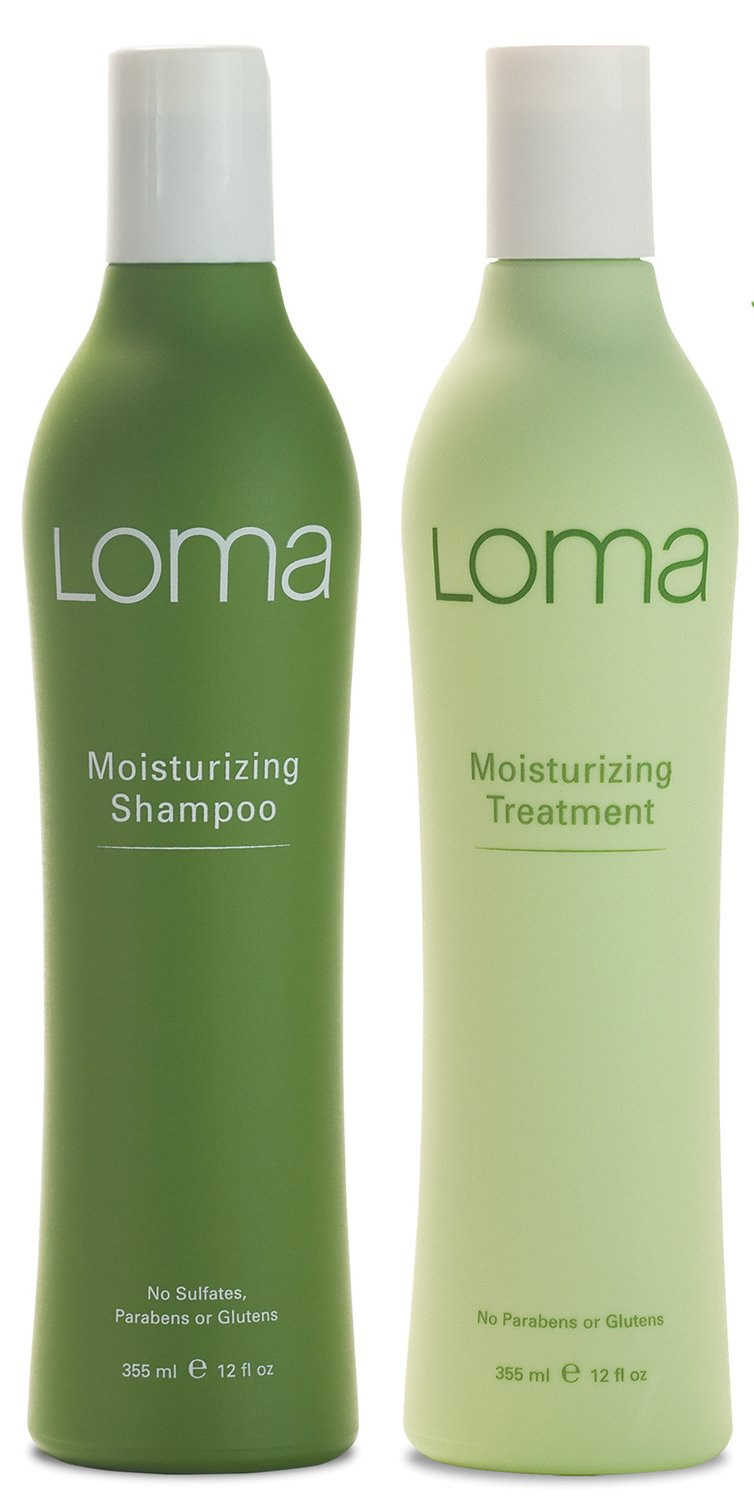 Loma Hair Care Moisturizing Shampoo Moisturizing Treatment Duo, 12 oz.
