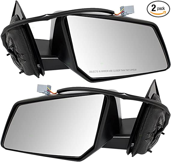 Drivers Power Side View Mirror Replacement for Chevrolet Buick Oldsmobile Van 15935753 AUTOANDART