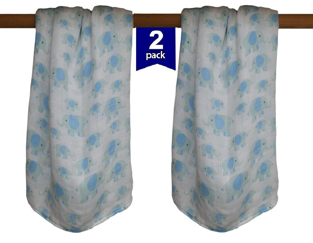 47/par 119,4/cm Luxe en mousseline de bambou Nid dange doux n Gamme Couverture douillette pour gar/çons et filles par facile maman et b/éb/é