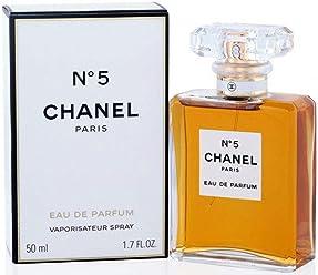 56f473d69 Chânel No.5 Eau De Parfum Spray for Woman, EDP 1.7 Ounces 50 ML