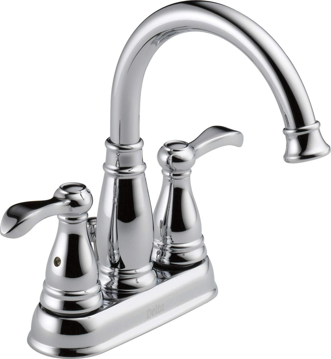 Delta Faucet 25984LF-ECO 2 Hand Lav Faucet, Chrome
