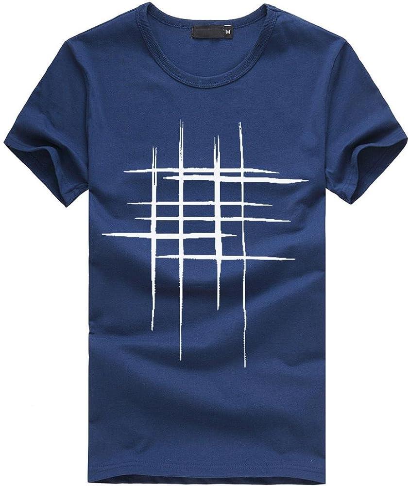 VENMO Camisetas Hombre Manga Corta Camisetas Hombre Originales Divertidas Camisas de Hombre Manga Corta algodón de Estampadas (Azul Marino, M): Amazon.es: Ropa y accesorios