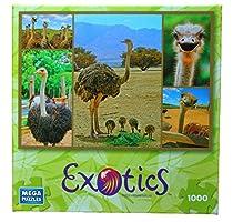 Ostrich 1000 Piece Exotics Mega Puzzle