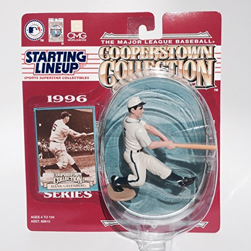 - Hank Greenberg Action Figure of the Detroit Tigers - 1996 Starting Lineup - The Major League Baseball Cooperstown Collection