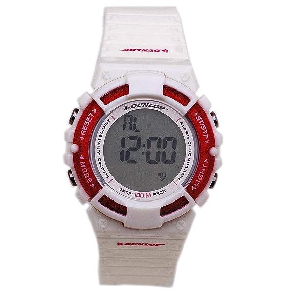 Dunlop Reloj Digital para Hombre de Automático con Correa en Caucho DUN-187-L11: Amazon.es: Relojes