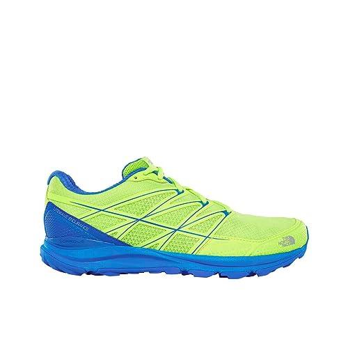 North Face M Litewave Endurance, Zapatillas de Trail Running para Hombre, (Dayglo Yellow/Turkish Sea 000), 42.5 EU: Amazon.es: Zapatos y complementos