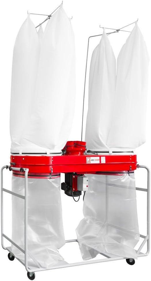 Holzmann – Aspirador de – Astillas de madera 2 x 280 litros 400 V – 3700 W abs5340p-400 V: Amazon.es: Bricolaje y herramientas