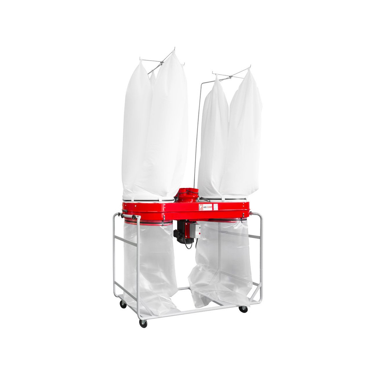 Holzmann - Aspirador de - Astillas de madera 2 x 280 litros 400 V ...