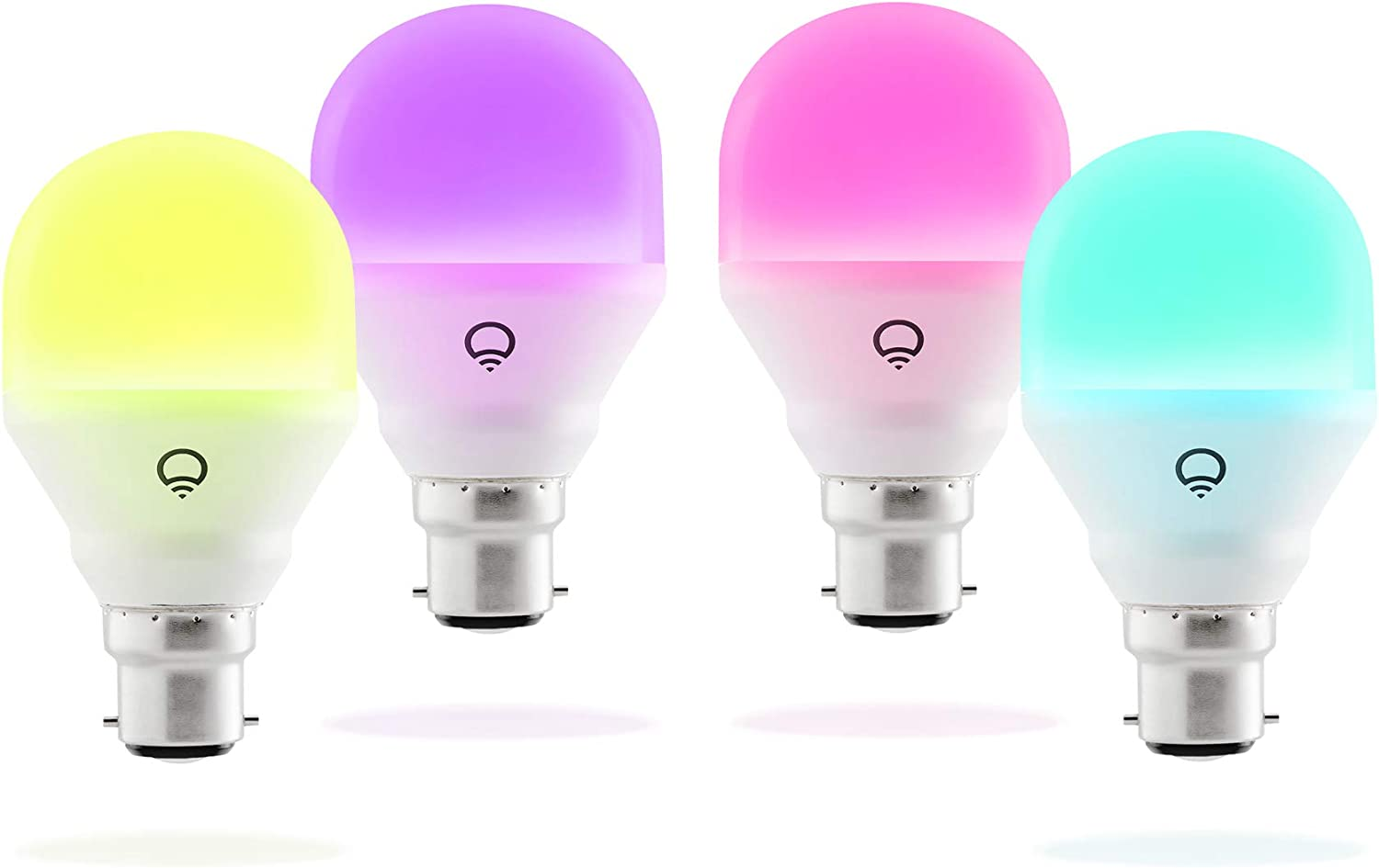 LIFX Mini (B22) Ampoule smart LED connectable Wi-Fi, ajustable, multicolore, ajustable, pas...
