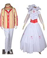 CosplayDiy Costume for Mary Poppins Bert Outfit and Mary Poppins Princess