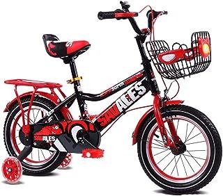 Asdflina Entraîneur de vélo Enfants Garçons Gilrs Bike avec Stablizers 12inch Age 3-5Y Entraînement de vélo à Domicile (Couleur : Vert)