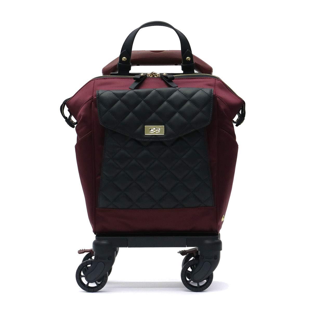 [ソエルテ] スーツケース ノービレ キャスターストッパー付 可(国内線100席未満、3辺合計100cm以内) 9L 30 cm 2kg B07JK9DVQG バーガンディ