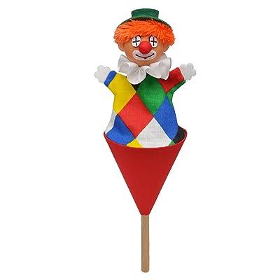 ABA 20cm klaun Logo Pop Box (Multicolore)