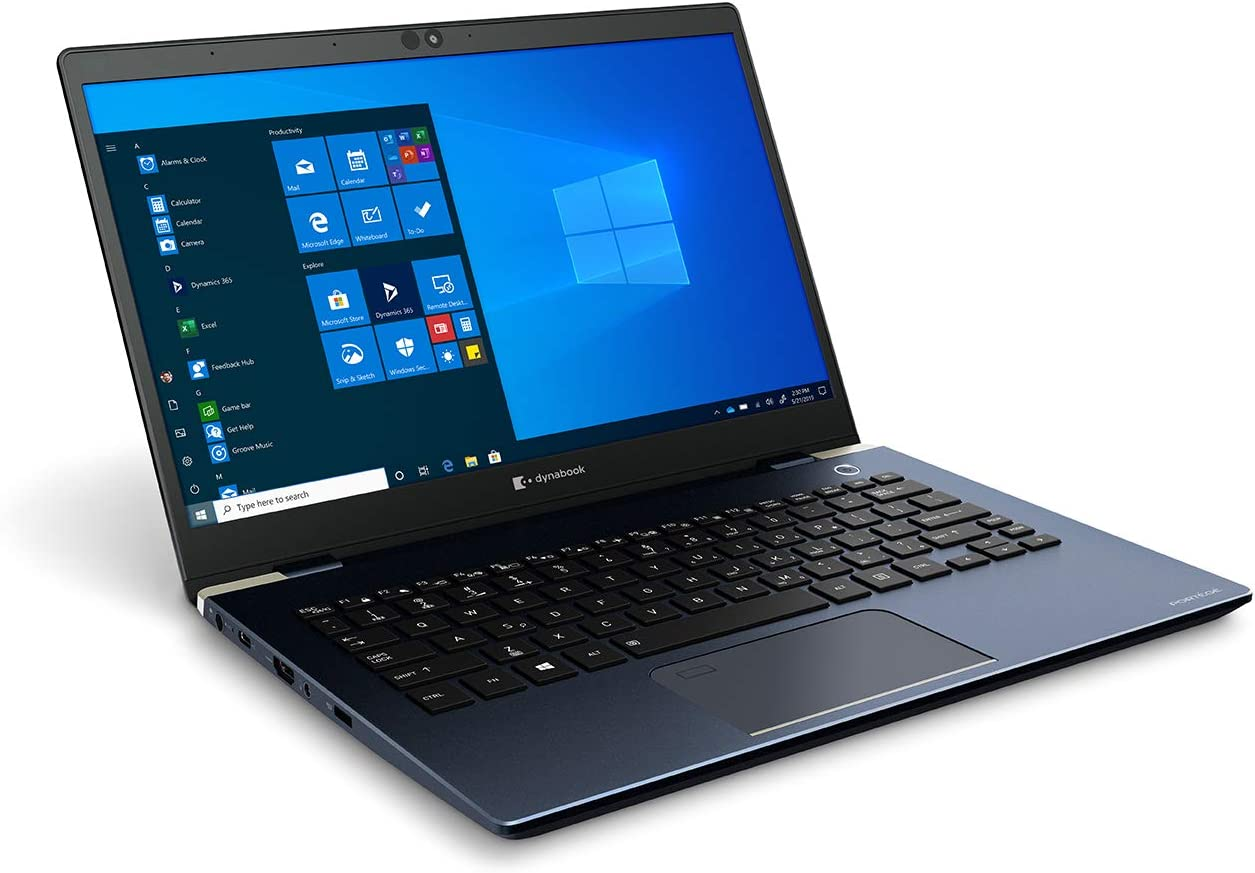 Dynabook Portege X30-L G1331 Laptop Computer (Formerly Toshiba) | 13.3 in. FHD Touchscreen | Windows 10 Pro | 10th Generation Intel Core i5 Processor | 8 GB DDR4 | 256 GB SSD | Bluetooth