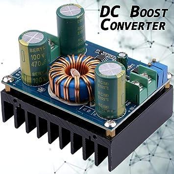 10A Step Up DC Boost Voltage Converter DC12~60V 12V 24V 48V Adjusable Regulator