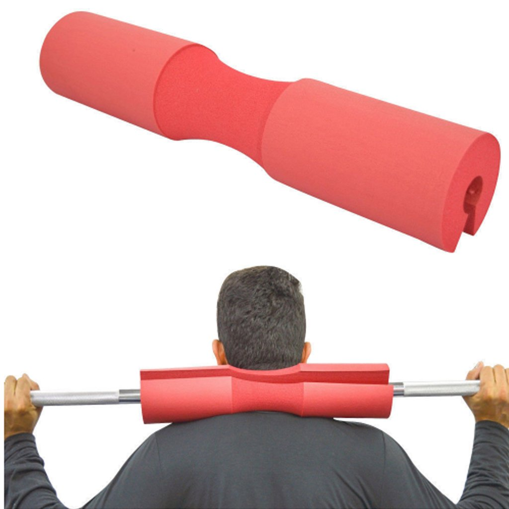 Barbell Squat Pad,Squat Sponge Fitness Barbell Neck Shoulder Back Protect Pad, GYM Weightlifting Crossfit Pull Up Grip: Amazon.es: Deportes y aire libre