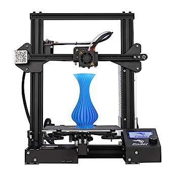 Creality 3D Impresora 3D Ender-3 Fuente Completamente Abierta Tamaño de Impresión 220x220x250mm