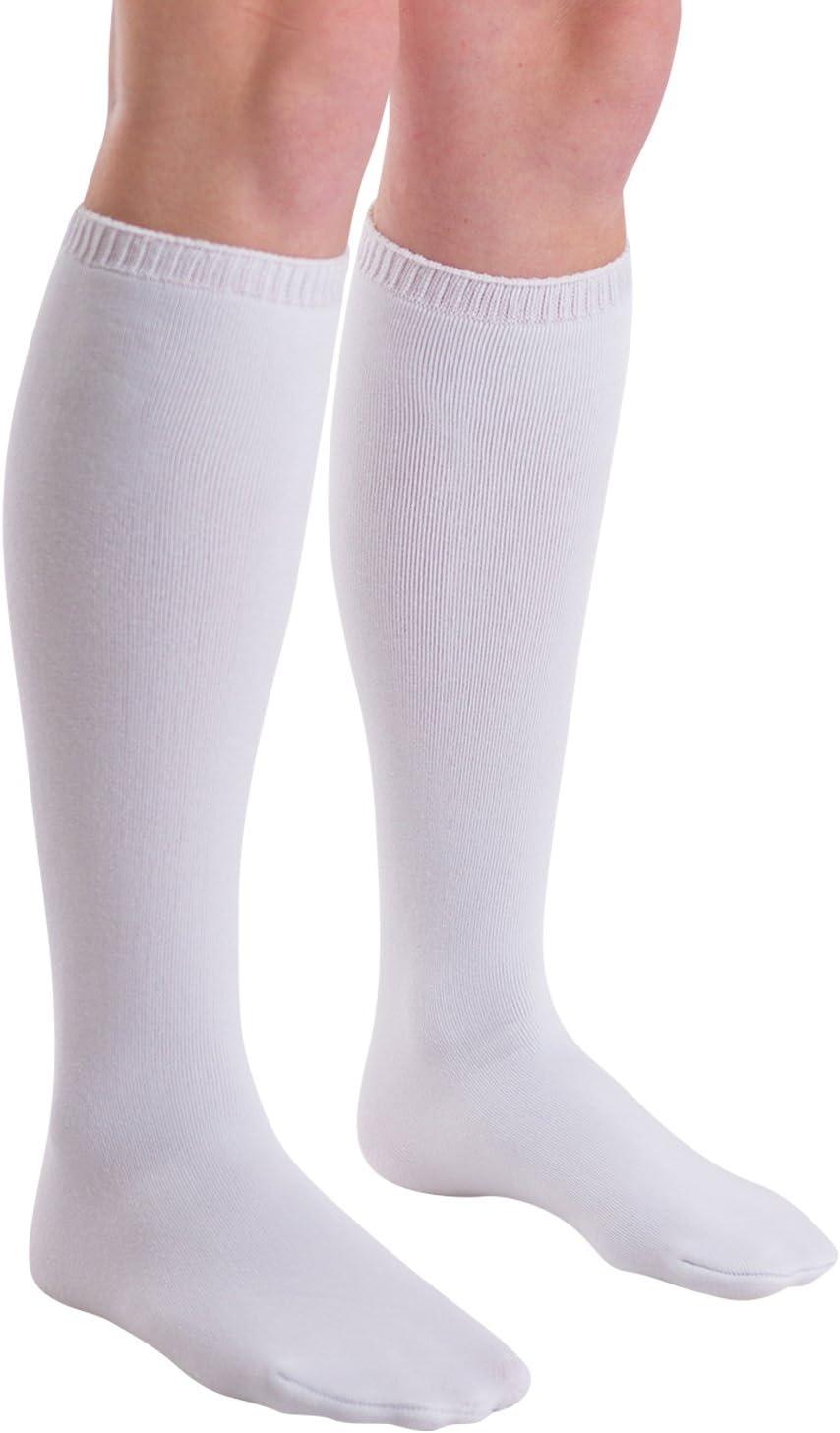 BraceAbility Calcetín de repuesto para botas ortopédicas para caminar | Calcetines de tubo médicos para usar Caminantes debajo de la cámara de aire y Fracture Boot Casts (Paquete de 2)
