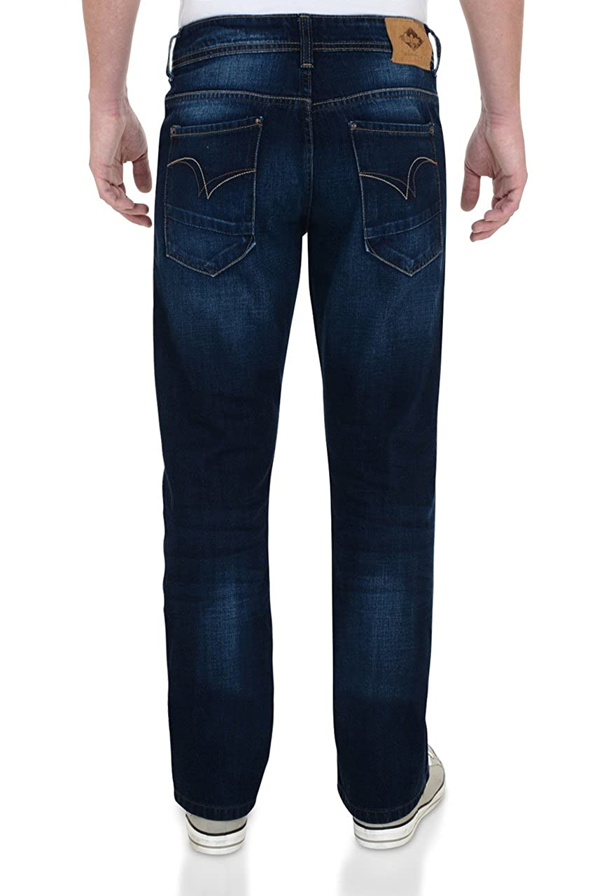 fb868c42902 Lee Cooper Carter Bootcut Jeans Dark Wash: Amazon.co.uk: Clothing