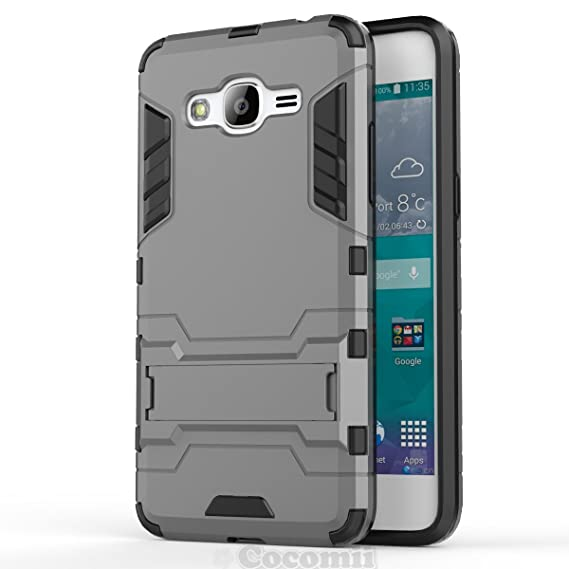 official photos fd496 65d82 Cocomii Iron Man Armor Galaxy J2 Prime Case New [Heavy Duty] Premium  Tactical Grip Kickstand Shockproof Bumper [Military Defender] Full Body  Rugged ...