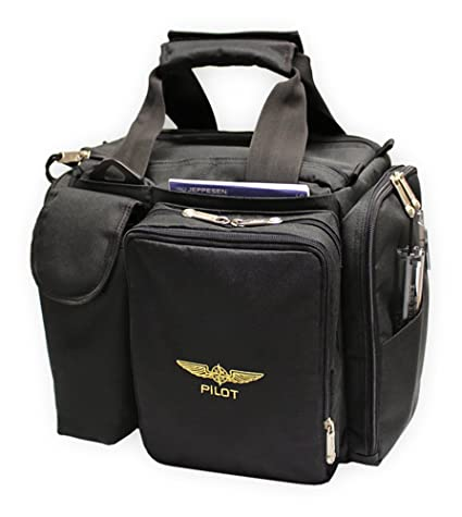 44b1b0b192 Image Unavailable. Image not available for. Color  Design 4 Pilots Brand Pilot  Bag Cross Country Flight ...