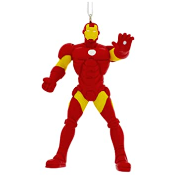 Image Unavailable. Image not available for. Color: Hallmark Iron Man  Holiday Ornament - Amazon.com: Hallmark Iron Man Holiday Ornament: Home & Kitchen