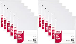 Filler Paper by Mead, Wide Ruled, 200 Sheets (15200)