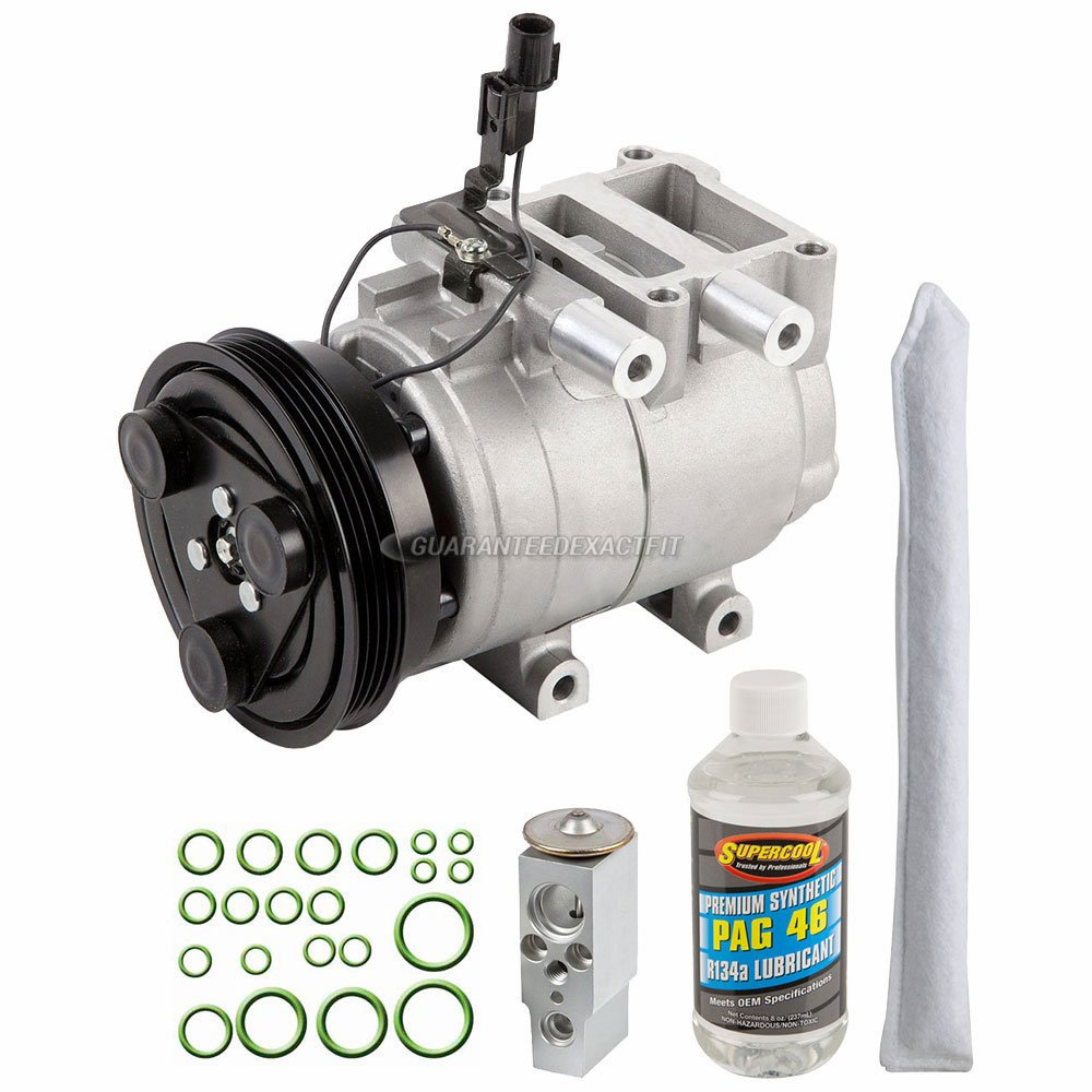 Amazon.com: AC Compressor w/A/C Repair Kit For Hyundai Accent 2004 2005 - BuyAutoParts 60-81678RK NEW: Automotive