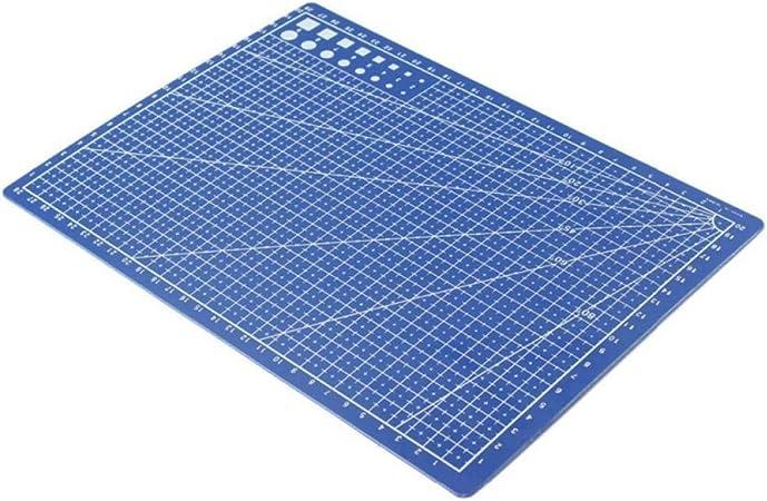 Oulensy esteras A4 / 30 * 22cm de Corte de Costura de Doble Cara diseño de la Placa de Grabado Tabla de Cortar Esterilla a Mano Herramientas de Mano 1pc: Amazon.es: Hogar