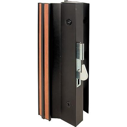 Slide-Co 142053 Sliding Glass Door Handle Lock, Hook Style, Surface ...