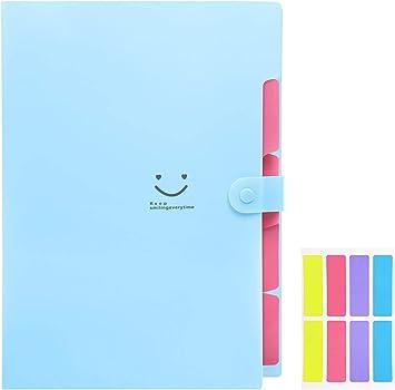 Letter A4 Paper Expanding File Folder Pockets Accordion Document Organizer
