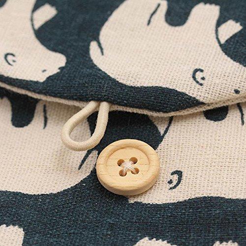 petit monnaie pochette Porte Hosaire hygi rangement sac pour serviettes TpwaxqESx