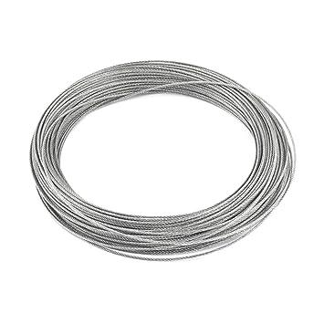 Bindung 7 x 7 1,2 mm Dia 25 m lang Edelstahl Flexibler Draht Seil 82 ...