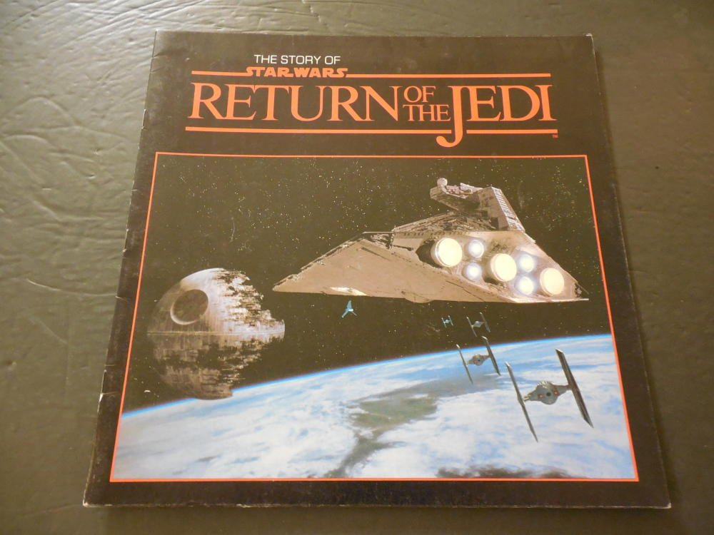 The Story Of Star Wars Return Of The Jedi Movie Book 1983