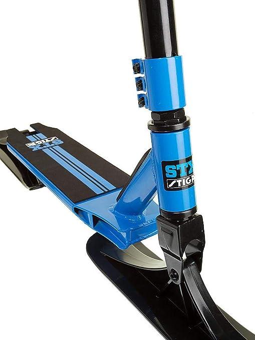 WINOMO Kit de Trottinette de Ski de Tra/îneau /à Neige Pliage de Planche /à roulettes pour Lext/érieur