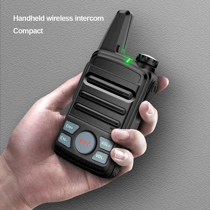 Sdesign Prima de walkie talkies Recargable de Larga Distancia ...