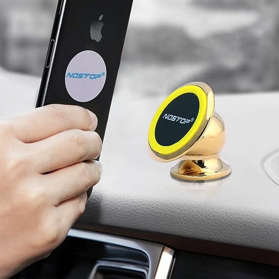 fd7c8d2b84e carbesties Soporte teléfono celular de Coche, Mini teléfono celular tablero magnético  soporte universal de coche para ...