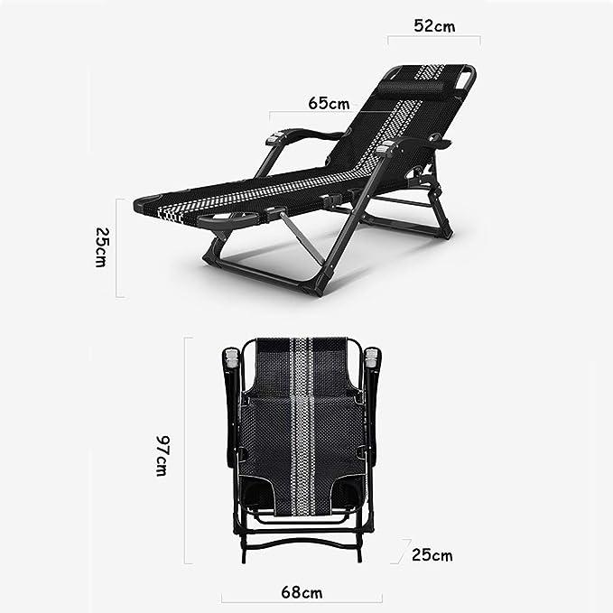 Amazon.com: Silla reclinable y reclinable para exteriores ...