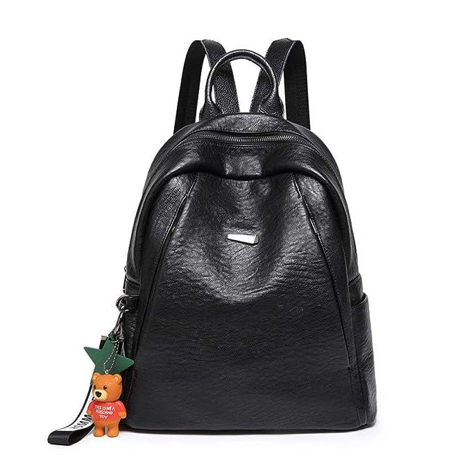Bolso Práctico Del Viaje De La Mochila Del Ladrón De La Vendimia De La Señora De La Moda,Black-31 * 16 * 32cm: Amazon.es: Ropa y accesorios
